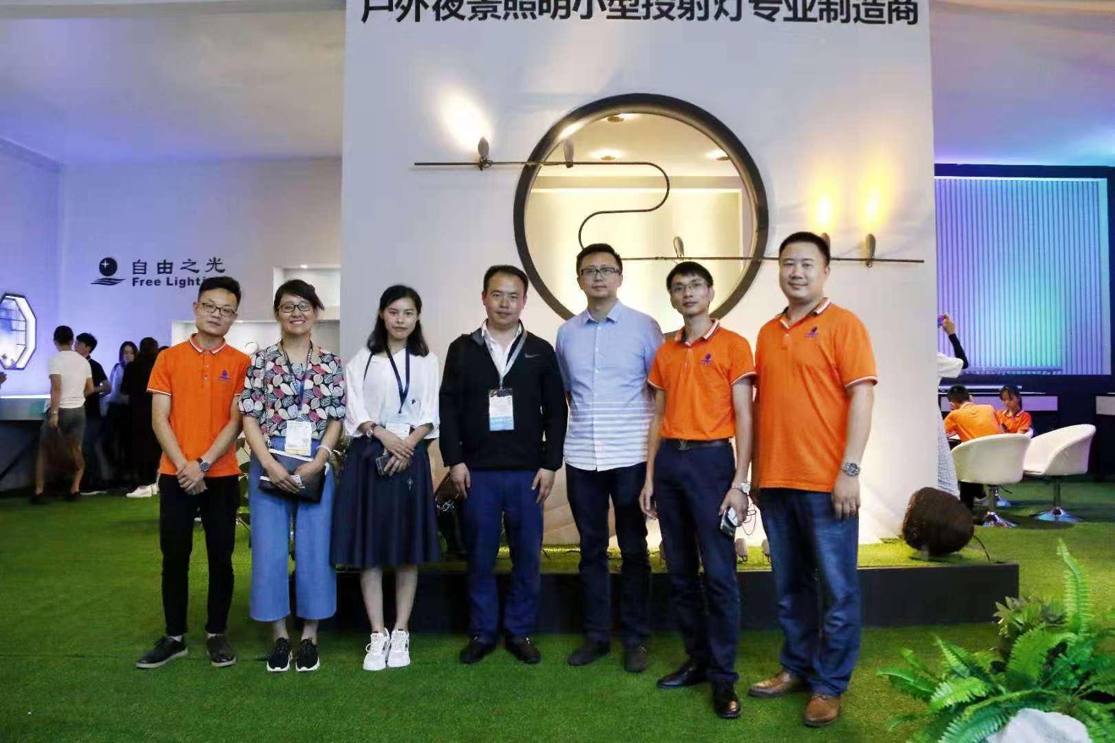 云南珠光照明工程有限公司领导率团队到多地考察