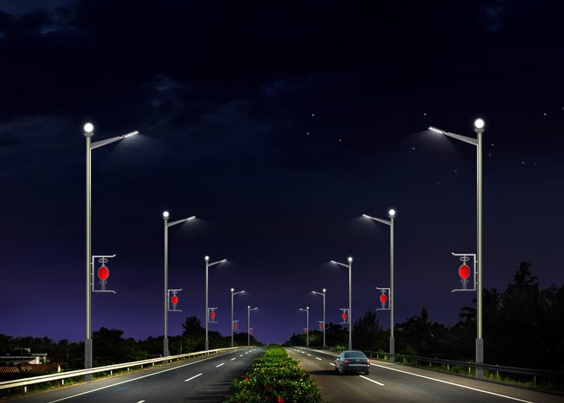 保山机场高速照明亮化工程