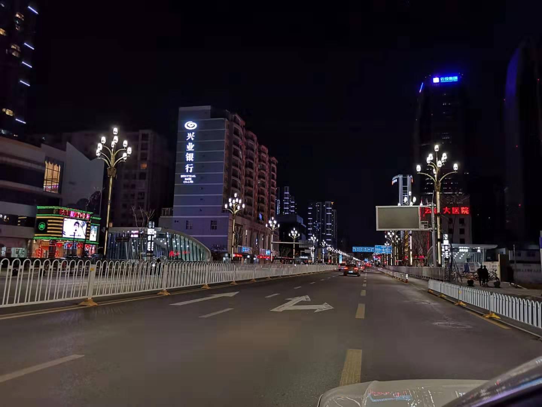 昆明市人民路路灯工程