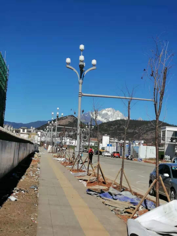 丽江玉锁路道路照明工程