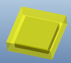 一种增光型Top-view CSP及其工艺研究