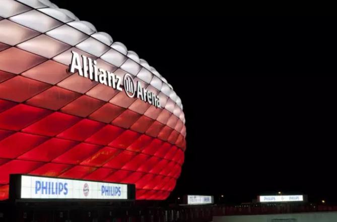 慕尼黑安聯球場 | 可變色的夢劇場