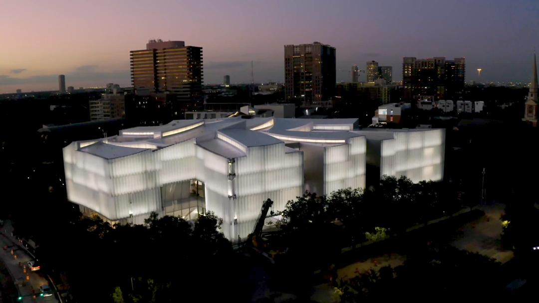 美国休斯顿美术馆携创意照明设计重新开放