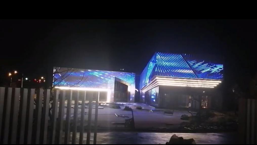 昆明向山的岛营销中心亮化工程项目