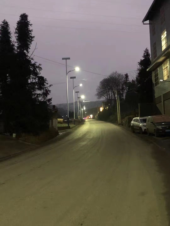 曲靖富源太阳能路灯道路照明亮化项目