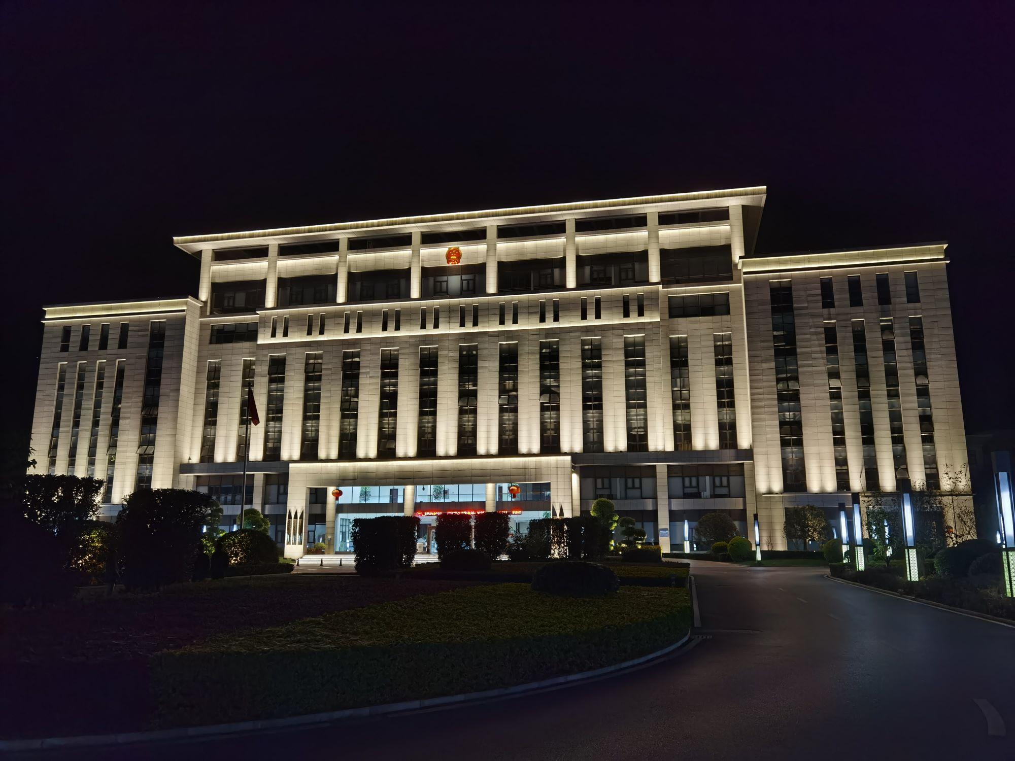弥勒弥阳政府大楼亮化工程项目