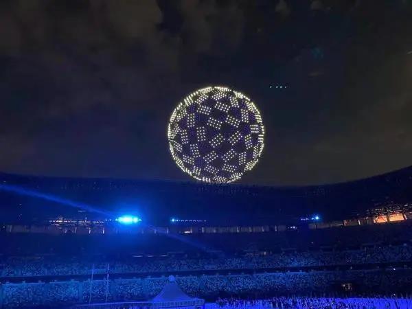 揭秘东京奥运会无人机灯光秀背后
