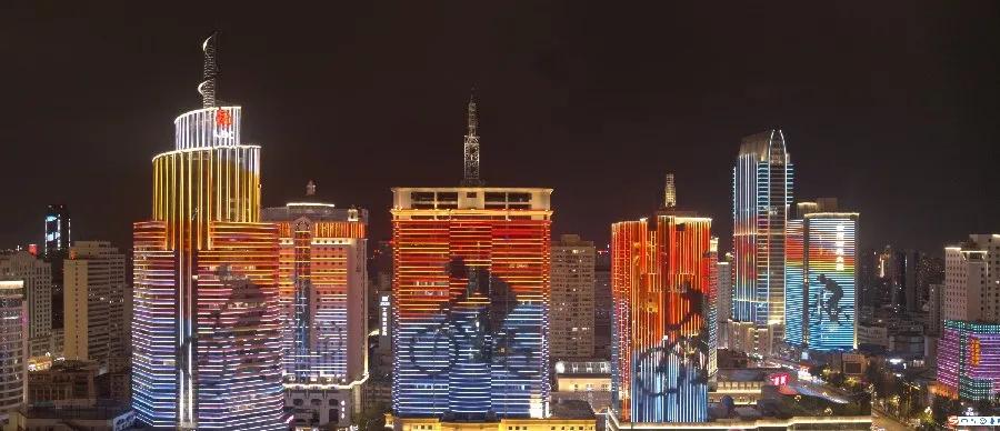 昆明通過街頭燈光秀迎COP15