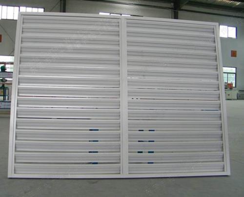 鋁合金百葉窗的葉片規格