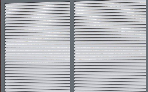 鋁合金百葉窗生產廠家通風良好