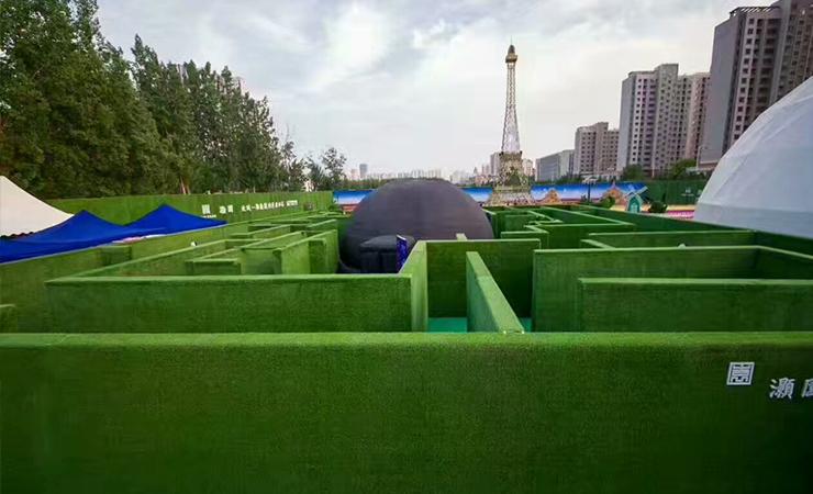 沈阳草坪绿雕