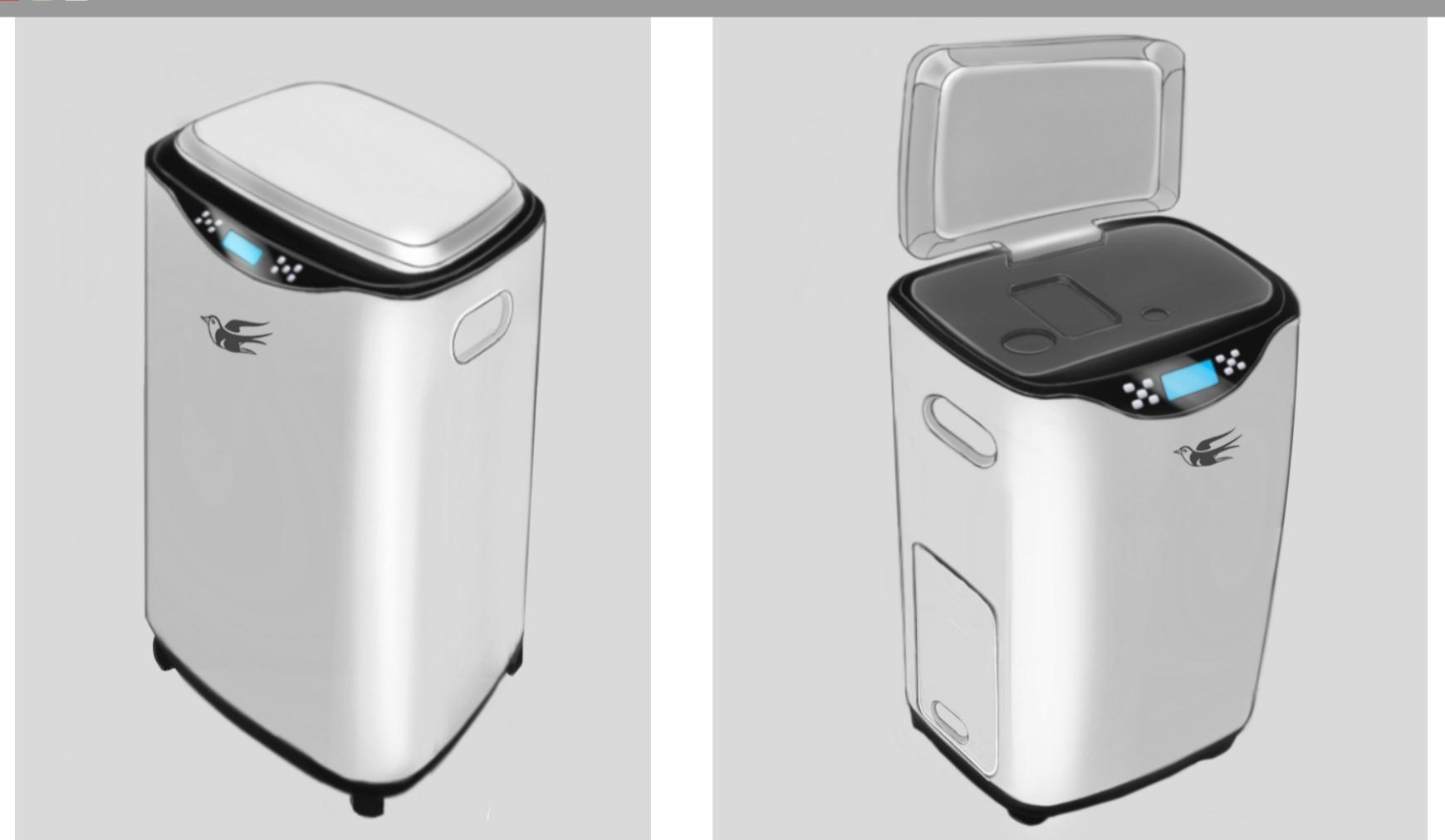 揭迪科技厨余垃圾处理器