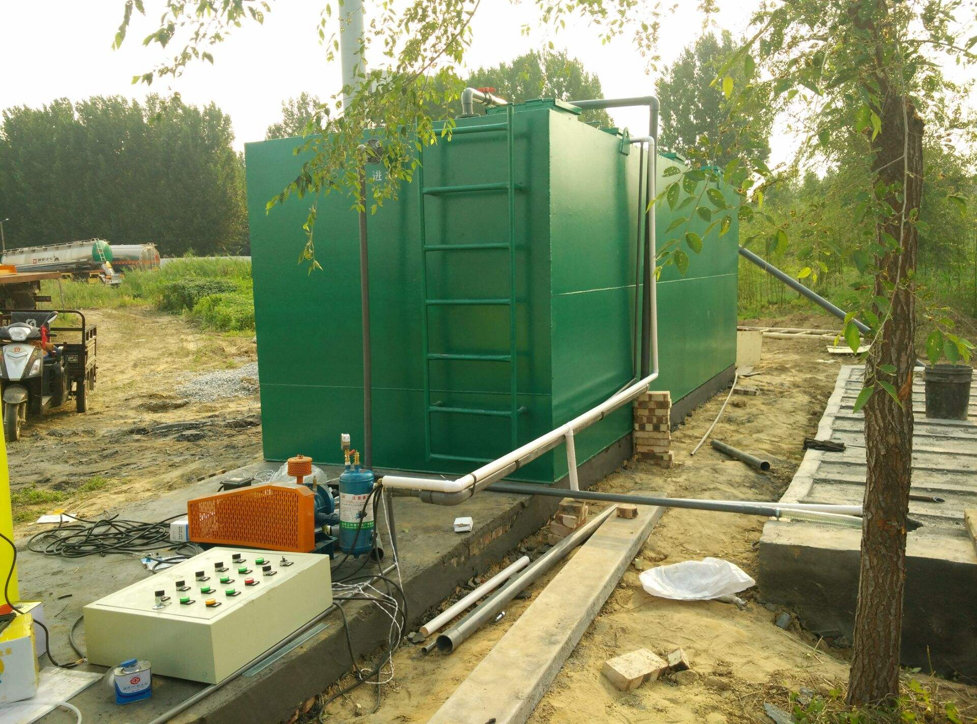 关于生活废水处理设备的三大处理系统
