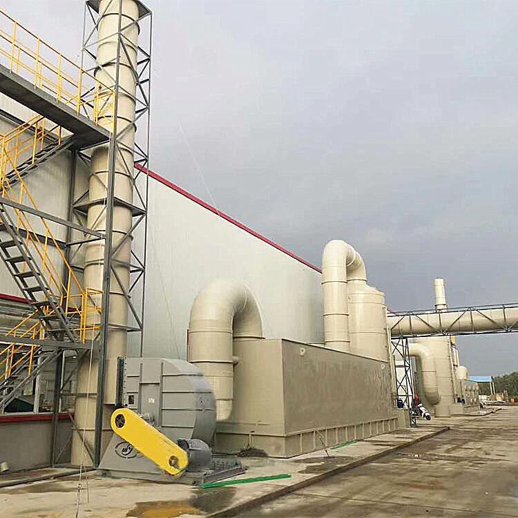 橡胶(塑胶)厂废气处理设备