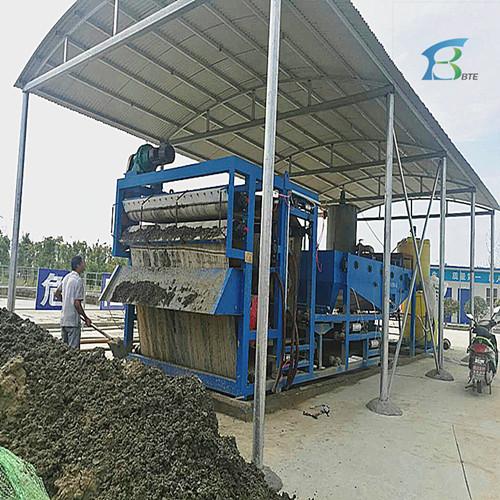 沙厂污泥脱水压滤机