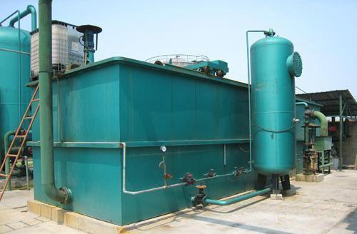 气浮机设备的构造和溶气系统
