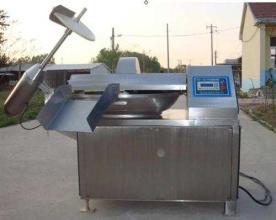 真空斩拌机整机采用SUS304不锈钢板制作