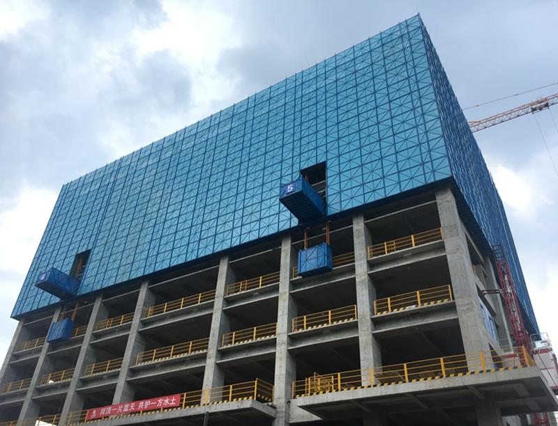 建筑爬架網