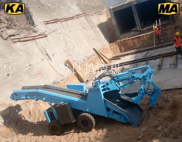 当碰到不同路面应该如何操作矿洞出渣机