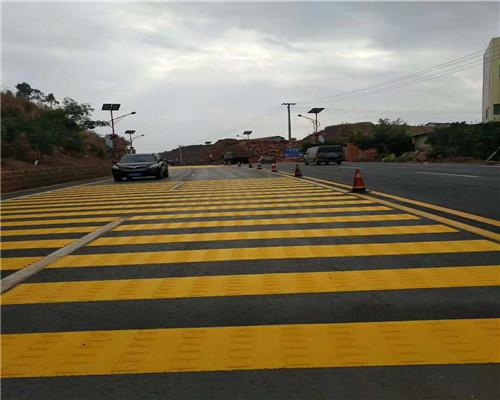道路划线时的规定以及要求
