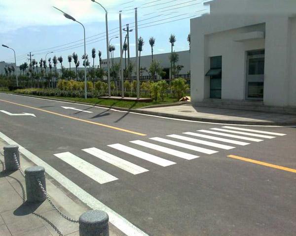 昆明厂区道路标线