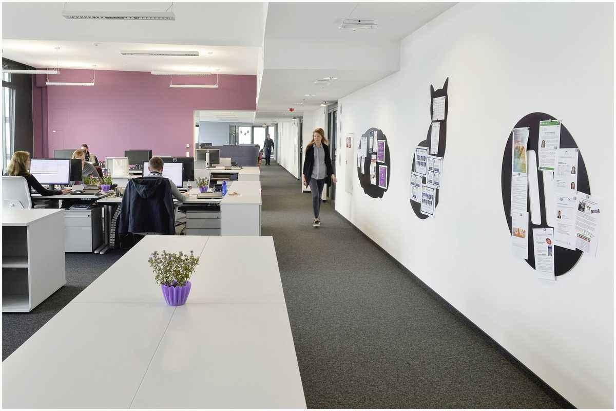 办公室装修设计接待区时需要注意什么