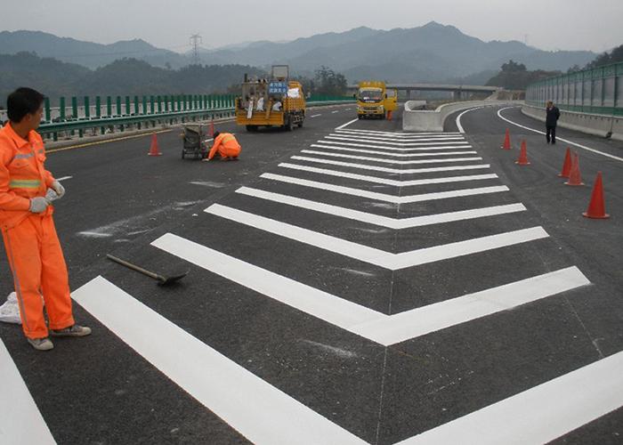 福建交通地面标线