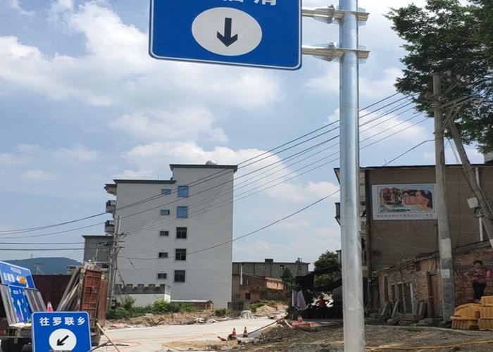 道路不锈钢标志杆