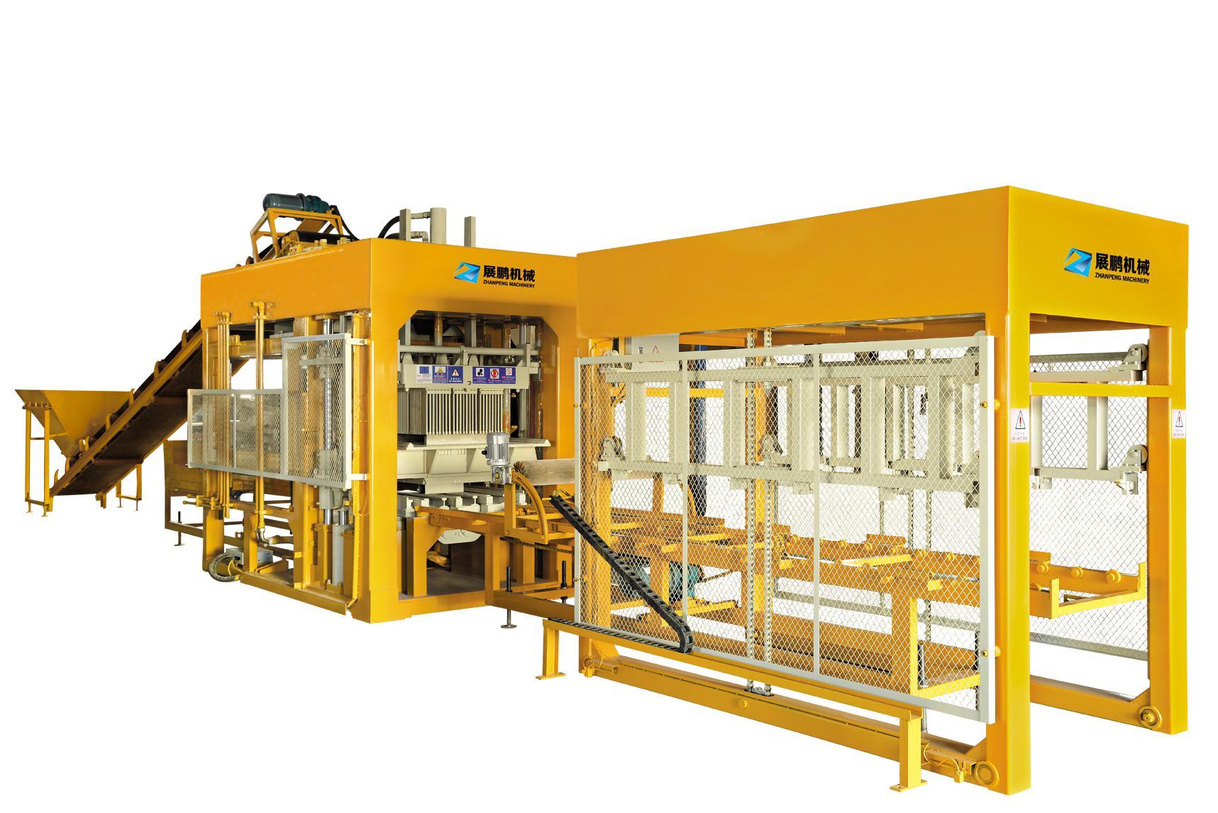 全自动砖机QT10-15