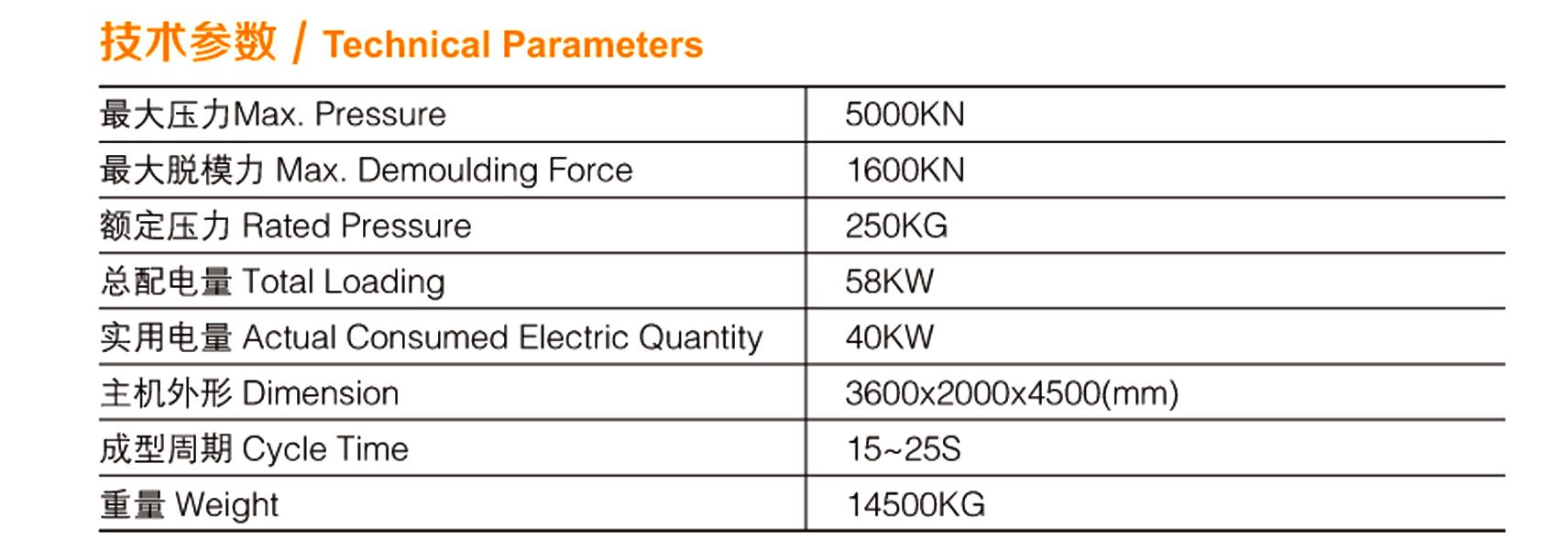 全自动液压砖机ZPY-4000参数