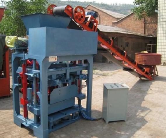 全自动透水砖砖机生产
