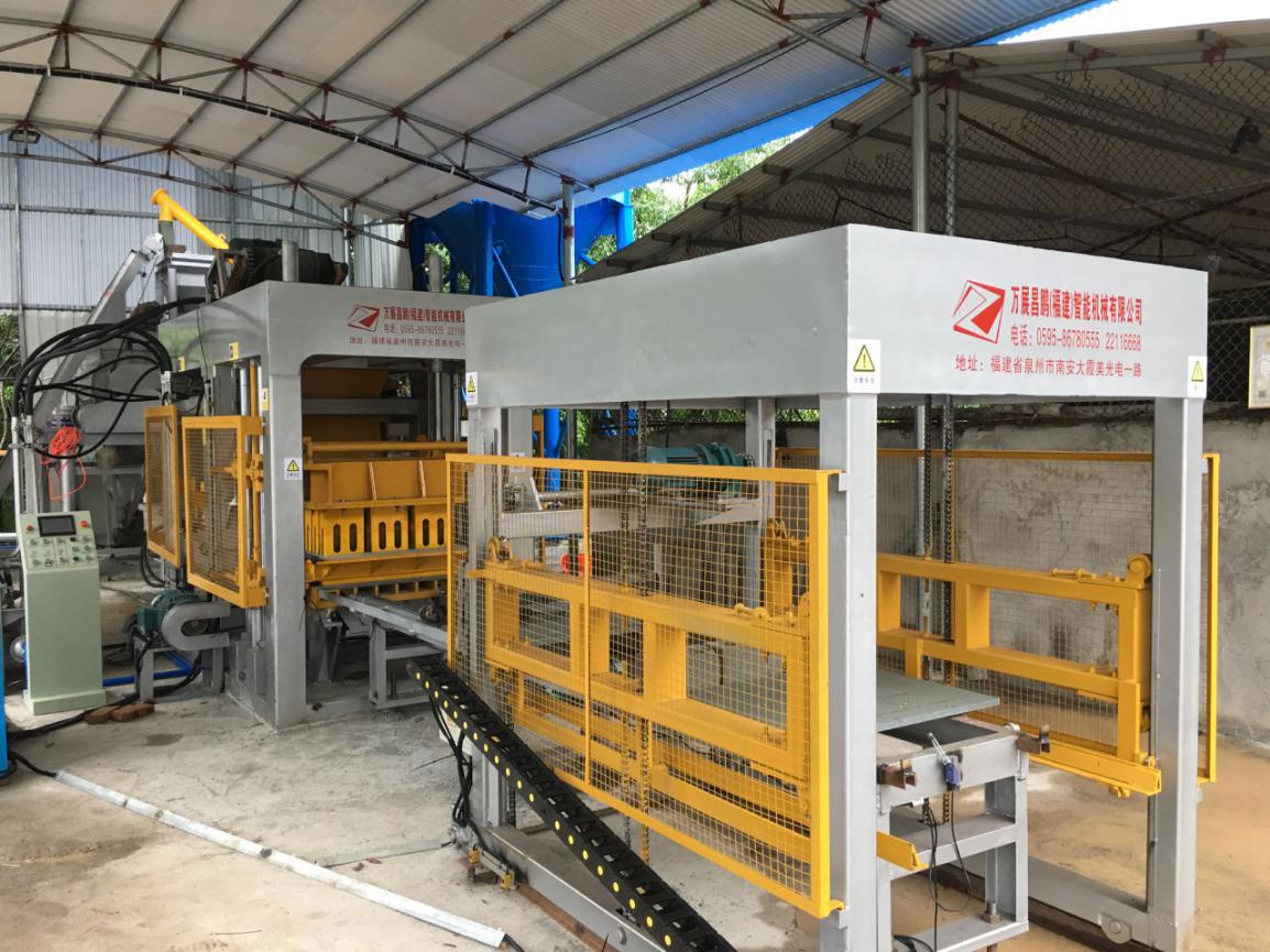最新全自动砖机生产线 已合作3年