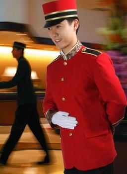 酒店门童工作服