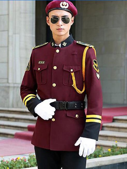 中式保安服