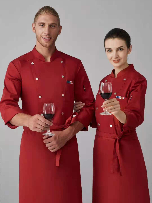 酒店厨师工作服