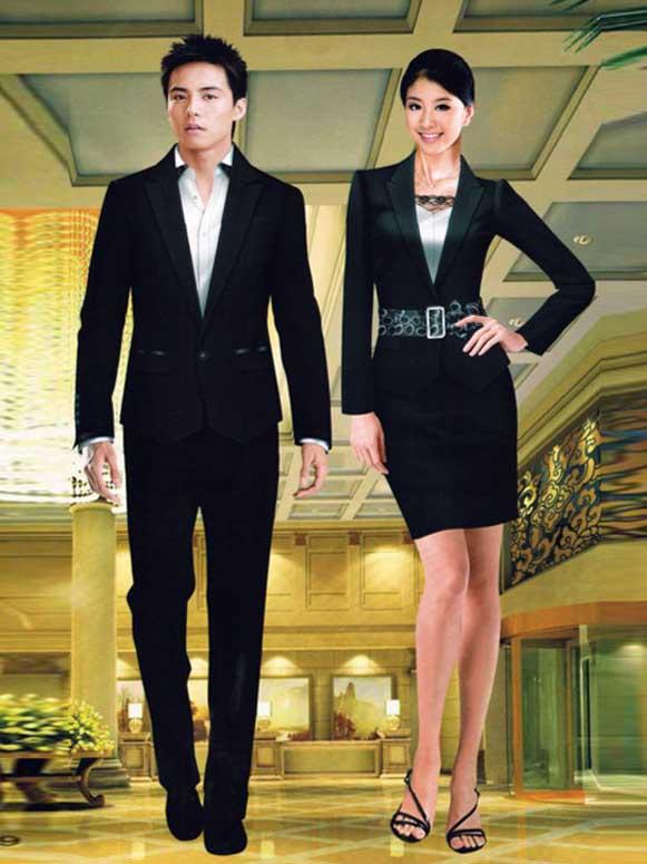酒店前台接待,酒店前台收银员服装定做