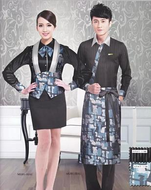 代表酒店员工服务形象的定制工作服-定制酒店制服-北京依佰易工作服定做厂家
