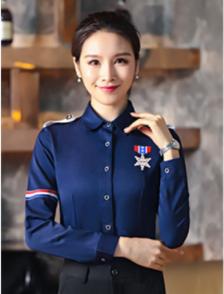 秋季酒店服務員工作服訂制款式設計圖-北京依佰易價格低廠家供應