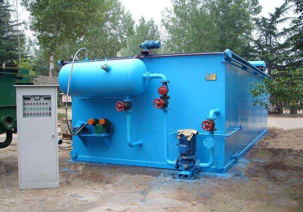 礦井污水處理設備的工藝特點