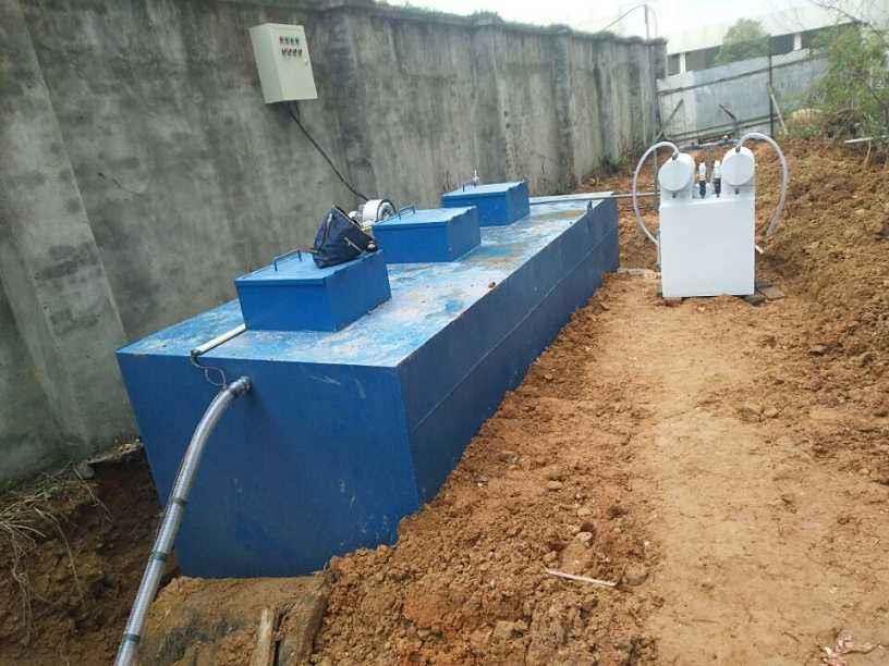 講一講地埋式污水處理設備的優點