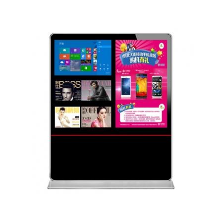 西安47寸+32寸双屏广告机