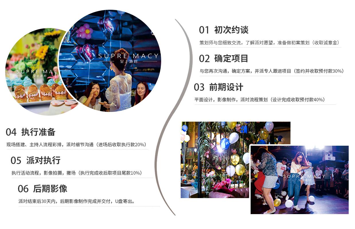 重庆生日派对策划
