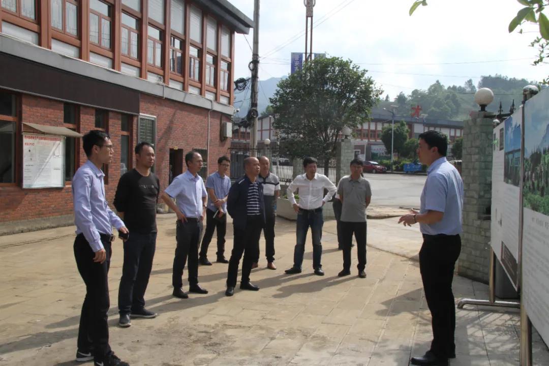 农业农村部调研组一行领导莅临正山堂普安红公司调研