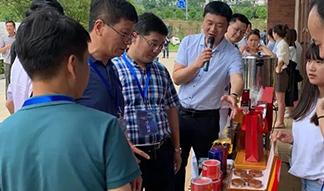 宁波镇海企业家代表团一行莅临正山堂普安红公司考察
