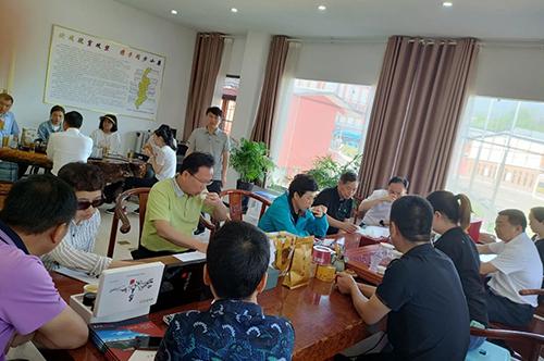 省人大常委会副主任杨永英一行领导莅临正山堂普安红公司考察调研