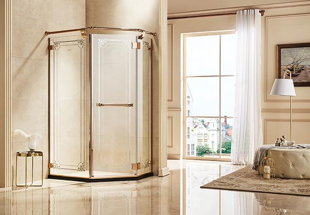 钻石型淋浴房-ZE31