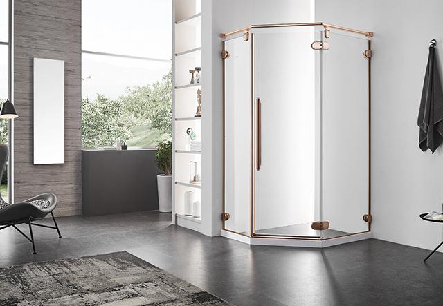 钻石型淋浴房-ZN31