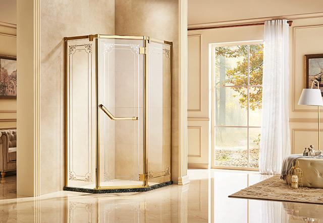 钻石型淋浴房-ZF31