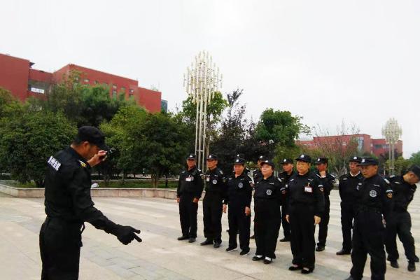贵州工业职业技术学院保安服务案例
