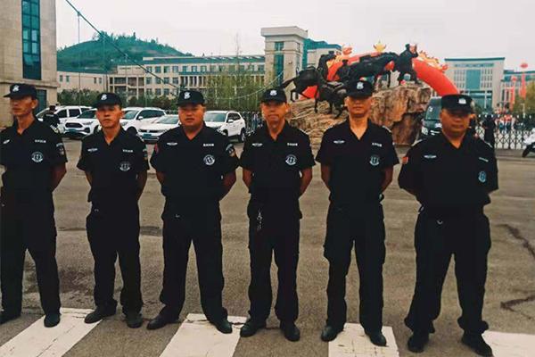 贵州商学院保安服务案例